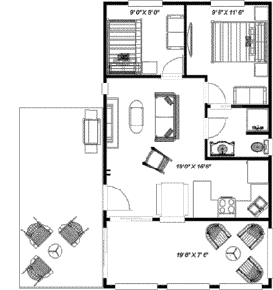 Deerview floorplan