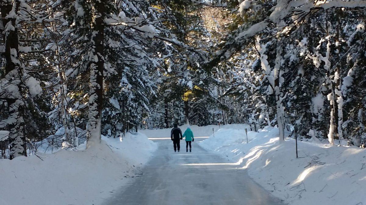 ice skating trail